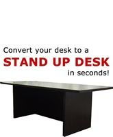 The Original Exclusive Stand UP Desk from LampsUSA.com. This is the one that started it all for us and has helped so many people feel and work better.