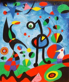 Juan Miro Paintings - The Best Picture of Painting Magritte Paintings, Joan Miro Paintings, Art Paintings, Famous Abstract Artists, Famous Artists Paintings, Joan Miro Pinturas, Art Du Monde, Wassily Kandinsky, Elements Of Art