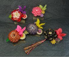 夏用の髪飾り - 和の結婚式~江戸つまみかんざし~ - Yahoo!ブログ