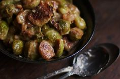 Bacon-Braised Brussels Sprouts
