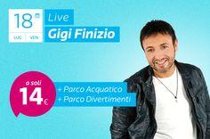 Live di Gigi Finizio a Magic World per il Pizza in Festa!