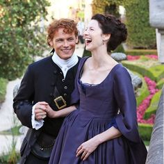 """""""Starz's Outlander heads to Paris for Season 2—but they actually filmed in Prague. We were on set for this week's cover story. For a look behind the scenes…"""""""