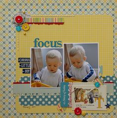 2 photo 1 page good patterned background paper