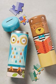 Tin Canister Puzzle - anthropologie.com
