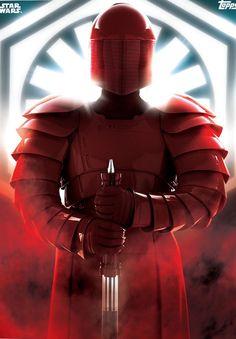 Snoke's Guard in the Last Jedi