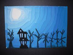 ARTventurous: In A Dark, Dark Wood