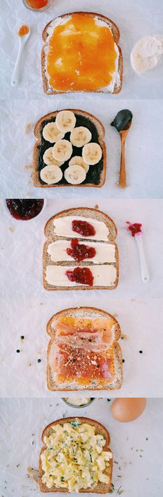 Your Morning Toast, 5 Ways