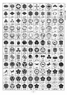 「我が家の家紋」(3720種類)P3:い~う・稲妻・稲・イ・兎・団扇・馬・梅