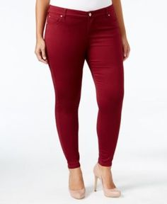 0be9f7f1a05 Celebrity Pink Trendy Plus Size Colored Wash Skinny Jeans Plus Sizes - Jeans  - Macy s