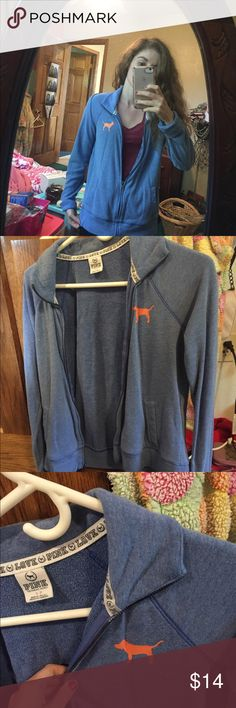 Rue 21 Carbon Athletic Full Zip Light