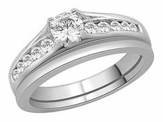 The Bridal Suite  18ct White Gold Ring Set  52pts - 193220