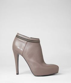 Stunning booties, designed in Italy and made from soft nappa leather.