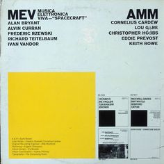 MUTANT SOUNDS: AMM & Musica Elettronica Viva (MEV)- Live Electronic Music Improvised ,LP, 1968,UK/ITALY/USA,NWW list!