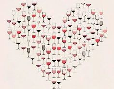 Love wine :)     ||   Beso de Vino