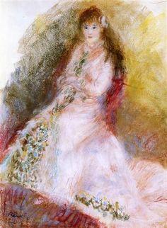 Ellen Andree - Pierre-Auguste Renoir