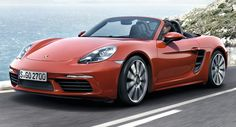 Porsche 718 Boxster Revealed With New Turbo'd 4-Cylinder Engines [w/Video]
