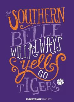 This southern belle will always yell go tigers Lsu Tigers Football, College Football Teams, Football Pics, Football Season, Tiger Girl, Tiger Love, Fight Tiger, Tiger Quotes, Southern Belle