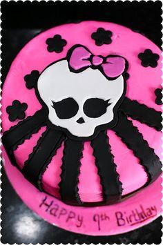 Google Image Result for http://lh4.ggpht.com/-sepVBJT9Lu0/T5cb5p9aTYI/AAAAAAAAAZ0/IkGvNRlDzVo/monster-high-pink-skull-cake-1.jpg