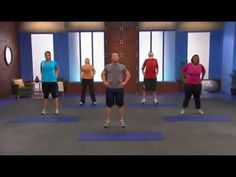 Chris Powell Level 1 Beginners Workout | 15 Minute Exercise Routine