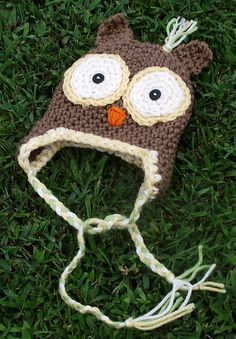 OWL Hat pattern by RAKJpatterns