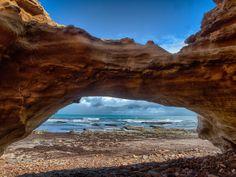 Sandstone Arch Sellicks Beach, South Australia Australia Capital, Australia Travel, Adelaide South Australia, Australian Beach, Kangaroo Island, Road Trippin, Big Island, Capital City, Arch