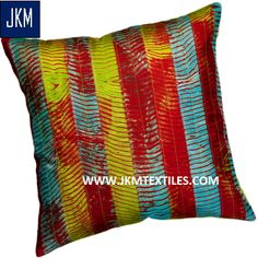 Cotton Satin Designer Cushion Cover