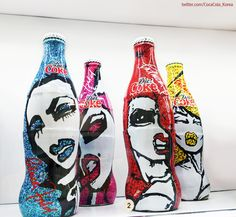 [Coke Bottle 34] 섹스앤더시티의 패션 디자이너로 명성을 떨친 패트리샤 필드와 콜라보레이션 제품으로 2008년 출시되었다고 합니다! 사랑, 커리어, 패션, 열정을 모티브로 했다고 하네요!
