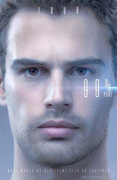 Novos cartazes de A Série Divergente: Convergente com personagens