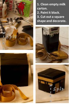 Day 7 and 8: Make a model of the Ka'ba...Re-use as Eid ul adha decoration.