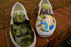 Fallout 3 Shoes by *MountainGiraffe  Traditional Art / Paintings / Miscellaneous	2012 *MountainGiraffe