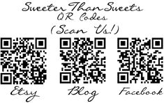 How to generate your own QR Codes - Tutorial by Tricia @ SweeterThanSweets