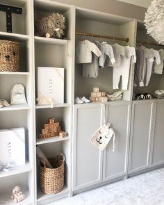 DIY billy bokhylla Ikea - Interior By Linda Wallgren hacks closet walk in Baby Bedroom, Baby Boy Rooms, Baby Room Decor, Kids Bedroom, Ikea Interior, Baby Room Design, Nursery Design, Home Decor, Kidsroom
