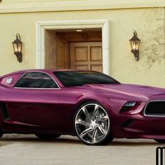 Ford Mustang 2014 concept would be better in black or red