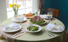 Easter dinner tips & tricks #HoneyBakedEaster sponsored