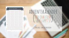Adventskalender+für+Chaoten+–+so+klappt's!+Eine+Vorlage+für+24+Ideen+{Printable+/+Freebie}