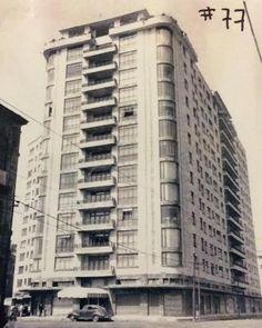 Paseo de la Reforma 77, 1939 Visto desde la calle de Ramírez