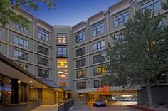 """Hotel 43 Boise (981 Grove Street) This hotel offers deluxe rooms with a 32"""" HD TV and a well-equipped fitness centre with cardio equipment. Located 10 minutes' drive from Boise Airport, it provides a complimentary airport shuttle. #bestworldhotels #hotel #hotels #travel #us #idaho"""