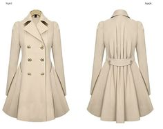 """Fashion women trench coat. Use this coupon code """"playbanovici"""" to get all 10% off!"""
