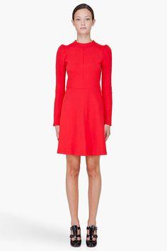 carven jersey dress.