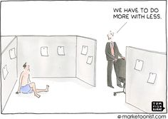 more with less- Tom Fishburne