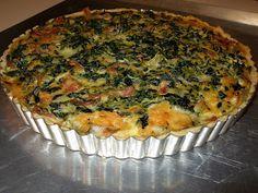 angel food garden: spinach tart