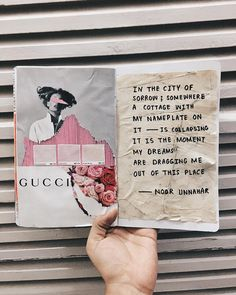 art journal + poetry by noor unnahar // journaling ideas inspiration diy craft teen artists artsy poetic, indie pale grunge tumblr hipsters aesthetics beige aesthetic collage mixed media, instagram creative photography, words quotes writing writers of color, white pink handwritten studyblr notebook stationery //