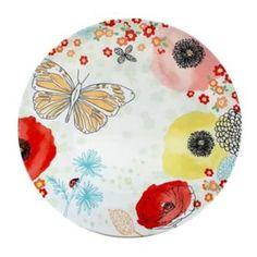 Celebrate+Spring+Together+Floral+11-in.+Melamine+Dinner+Plate