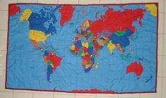Around the world quilt..