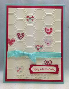 stampin up pretty valentine cards | SHARING CREATIVITY and COMPANY: Valentine's Day Cards