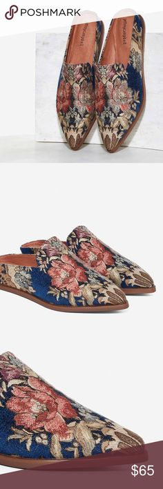 Jeffrey Campbell Tapestry Flats New without the box! Price is firm! Jeffrey Campbell Shoes