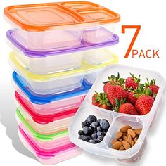 Bento Lunch Box Containers - 7-Pack for Kids & Adults - P... https://smile.amazon.com/dp/B01HUKL0C4/ref=cm_sw_r_pi_awdb_x_Gu4CzbPQTP03M