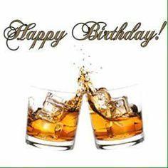 Happy Birthday cocktails o. Happy Birthday Cocktail, Happy Birthday 1, Happy Birthday Wallpaper, Birthday Cheers, Birthday Blessings, Happy Birthday Pictures, Birthday Wishes Quotes, Happy Birthday Messages, Happy Birthday Greetings