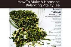 How To Make A Hormone Balancing Vitality Tea