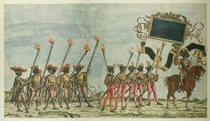Albrecht Altdorfer (c. 1480 -1538), Hans Burgkmair (1473-1531), Albrecht Dürer (1471-1528) & others — Triumphal Procession, 1517 (1500x866)
